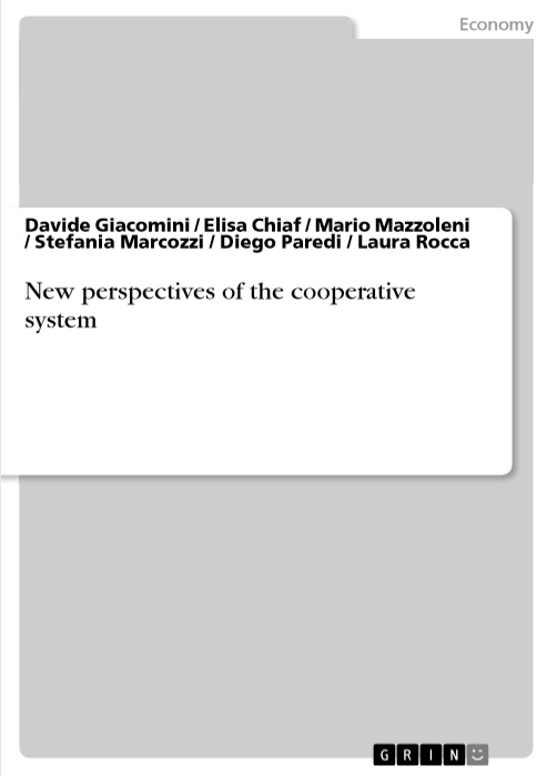 New perspectives of the cooperative chapt1